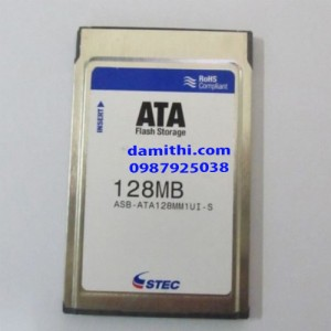 Flash ata pc card STEC 128MB PCMCIA