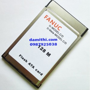 Flash ata card pcmcia 128mb Fanuc