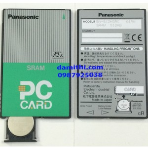 Sram card pcmcia Panasonic 512kb