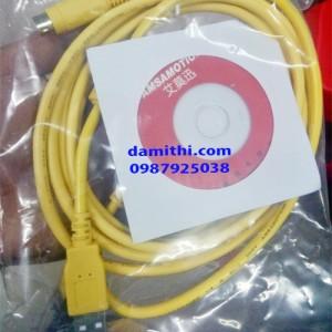 Cáp lập trình USB SC09-FX Mitsubishi FX1N / 2N / 1S / 3U / 3GA