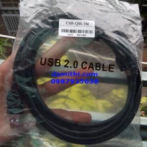 cáp lập trình USB Q cho Mitsubishi Q series/Q06UDEH/Q03UDE