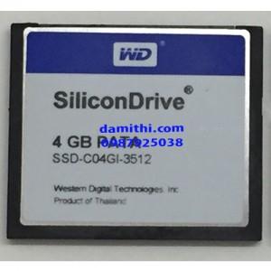 SiliconDrive II CF 4G PATA SSD