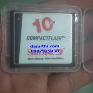 Thẻ nhớ CF card dung lượng thấp 10mb