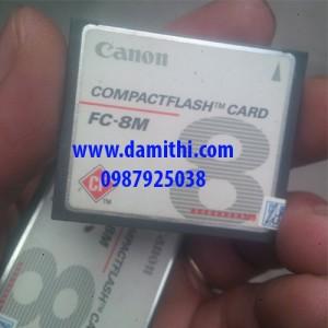 Thẻ CFcard 8MB dung lượng thấp