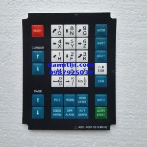 Bàn phím CNC FANUC A98L--0001-052418#M02