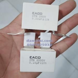 Tụ điện EACO STM 2000V 0.22UF 0.1UF